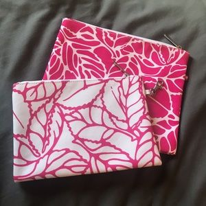 Matching Set of Clinique Makeup Bags